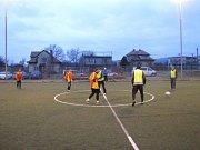 Zimní liga Staré Gardy v malé kopané ve Fryštáku 2016-2017.