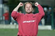 Fotbalový trenér Pavel Hoftych.