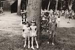 MŠ FRYŠTÁK 1985. Z pohádkového lesa. Konal se v červnu v parku v Horní Vsi.
