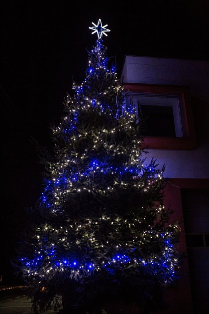 Vánoční strom Poličná