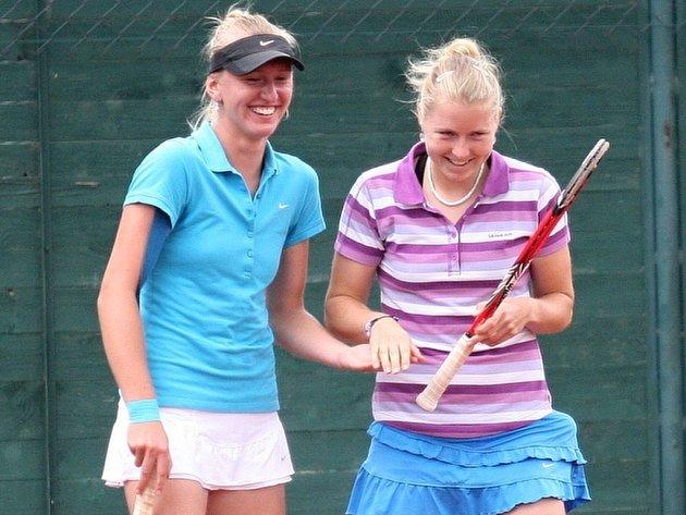 Vítězkami soutěže ve čtyřhře se na zlínském mezinárodním tenisovém turnaje Smart Card Open Monet + se stala česká dvojice Martina Borecká a Tereza Smitková.
