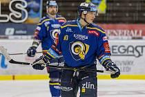 Lukáš Vopelka v 37 zápasech v dresu Zlína posbíral 17 kanadských bodů za 11 branek a 6 asistencí.