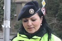 Monika Pekařová, jedna ze zlínských strážnic, která pomáhala vytahovat z Dřevnice několikaměsíční holčičku