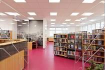 Nově zrekonstruovaná knihovna Jižní Svahy.