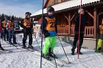 Školáci mají za sebou lyžařské závody