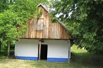 Vinohradnický domek ve Veletinách.