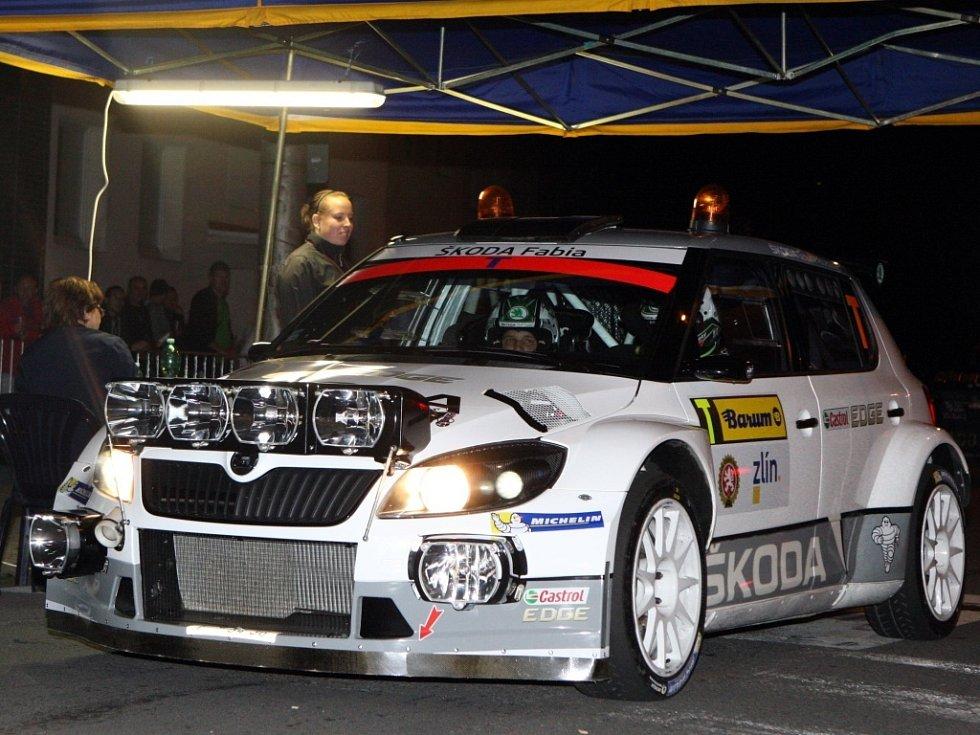Barum Czech Rally Zlín 2014 - První městská noční RZ ve Zlíně.