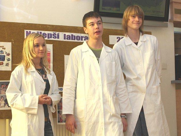 Žáci základních škol bojovali o titul nejlepšího laboranta
