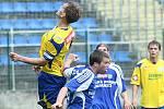 V duelu rezerv porazili fotbalisté Zlína (ve žlutém) Sigmu Olomouc 4:0.