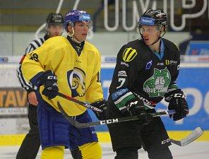 Hokejisté Aukro Berani Zlín hráli v přípravném zápase proti Novým Zámkům.