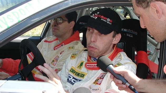 Zlínský rallyový jezdec Miroslav Jandík.