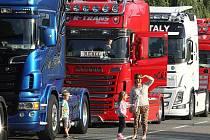 Truck sraz Zlín v Březůvkách. Ilustrační foto z roku 2015