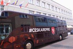 Fotbalisté České republiky se v úterý ubytovali ve zlínském hotelu Baltaci Atrium. Foto: Deník/Libor Kopl