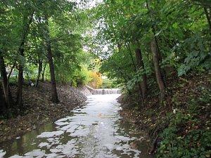 Znečištění vodního toku ve Vizovicích