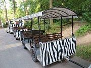 Nehoda vláčku ve zlínské zoo