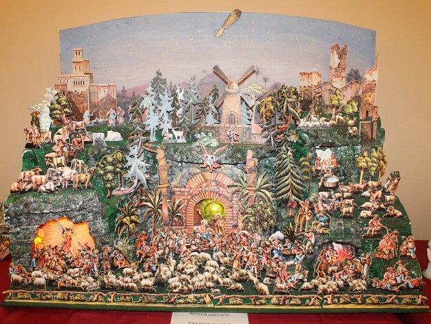 V neděli 21. prosince 2014 se v Březnici konala výstava Betlémů.