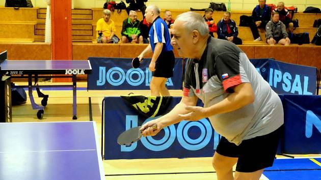 stolní tenista Jaroslav Kučera