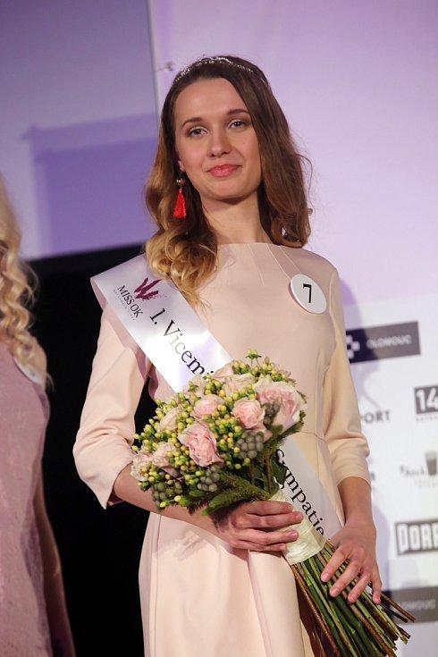 Miss OK 2018 v Besedě v Otrokovicích.