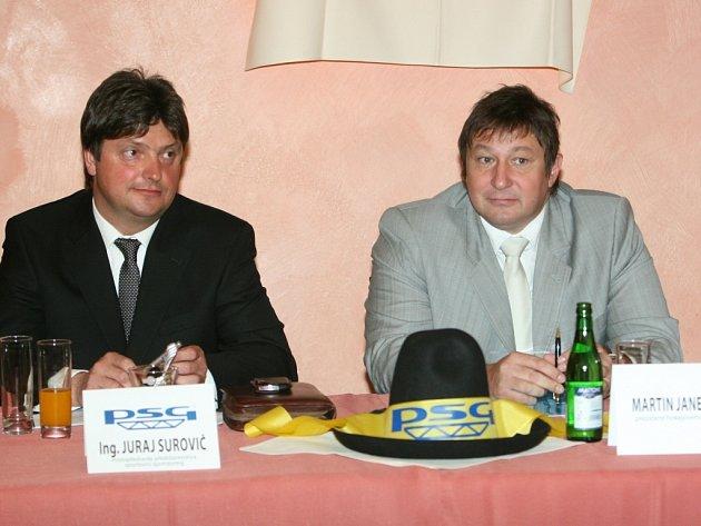Juraj Surovič a Martin Janečka.