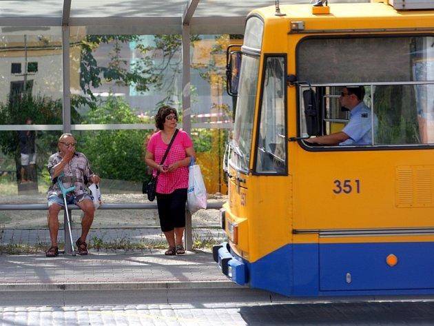 Zastávka. Ilustrační foto