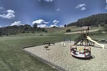 Vizualizace nového sportoviště ve Smolině