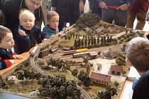 Výstava železničních modelů ve zlínské Alternativě