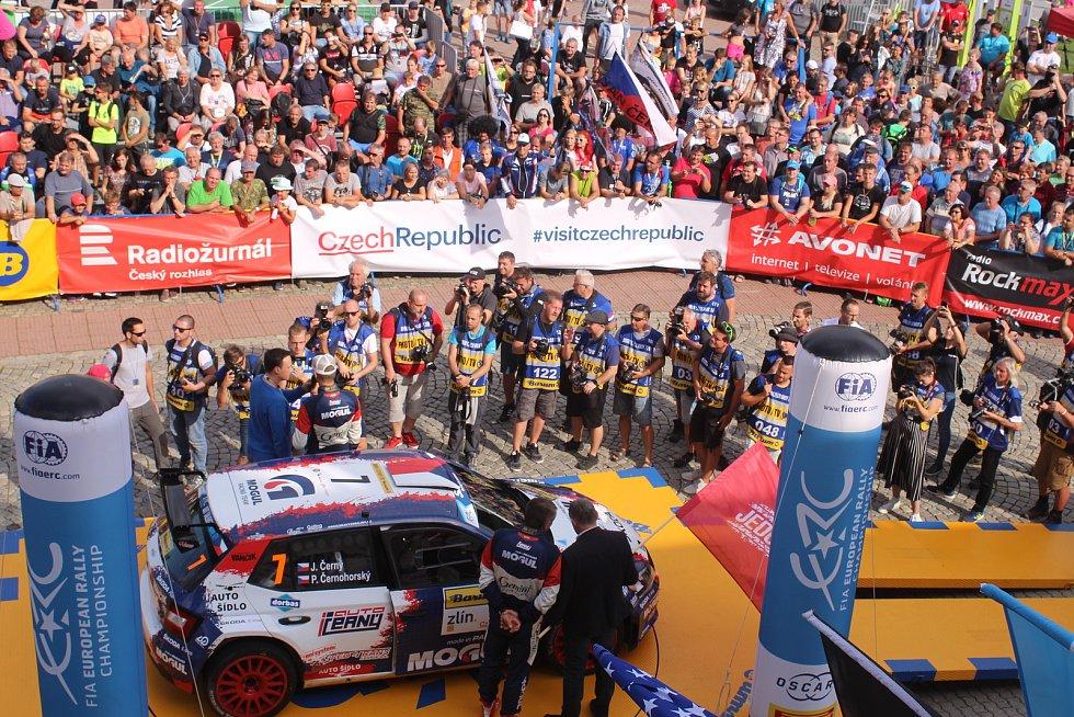 začal 49. ročník Barum Czech Rally.