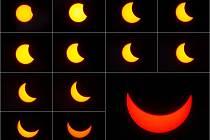 Zatmění Slunce 20. 3. 2015
