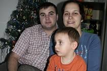 Tady mám rodinu, takže tady budu vždycky slavit Vánoce na Štědrý den, říká Moldavan Andrej Rotari.