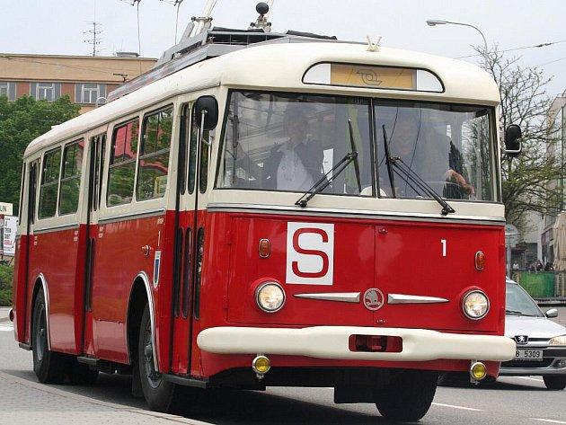 Historický trolejbus Škoda 9Tr, Zlín