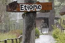 Pavilon Etiopie ve zlínské ZOO. Ilustrační foto.