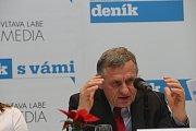 Setkání s hejtmanem. Hejtman Jiří Čunek