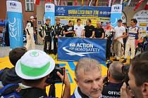 Start Barum Czech Rally Zlín 2018