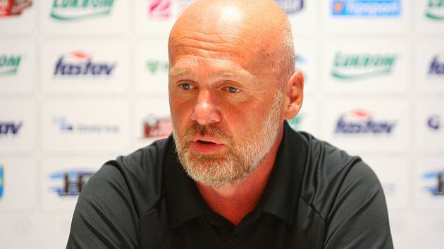 Trenér fotbalistů Zlína Michal Bílek