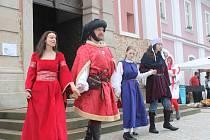 Ve Štípě otevřeli opravené náměstí. Oslavy provázel pestrý program