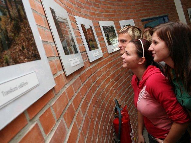 Výstava v Baťově nemocnice