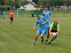 fotbalové mužstvo Rokytnice nad Vláří ze setkání Rokytnic 2017.