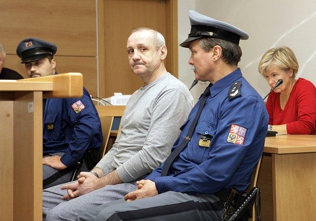 Vrah Jozef Urbanovský před soudem