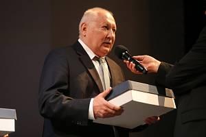 Slavný útočník Zdeněk Nehoda patří mezi legendy Fastavu a zúčastnil se také slavnostního galavečera zlínského fotbalového klubu.