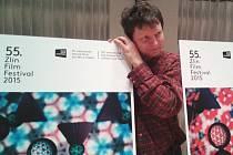 Výtvarník Petr Nikl, autor vizuálu 55. Mezinárodního festivalu filmů pro děti a mládež