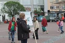 Svobodní na Náměstí míru prezentovali den daňové svobody