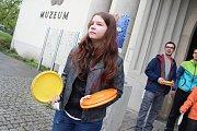Festival Culturea ve Zlíně se v úterý 28. dubna 2015 nesl v duchu Francie. Zájemci si vyzkoušeli například i Discgolf, což je hod diskem na koš.