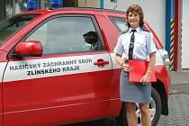 Ředitelka zlínských krajských hasičů, Jarmila Čičmancová.