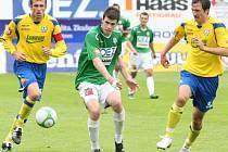Poslední kolo I.Gambrinus ligy FK Baumit Jablonec, a.s. proti FC Tescoma Zlín, a.s. 15 Zbožínek, 19 Vukovič, 5 Kroča.