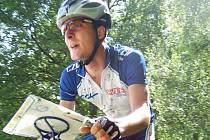 Zlínský biker Jiří Hradil.