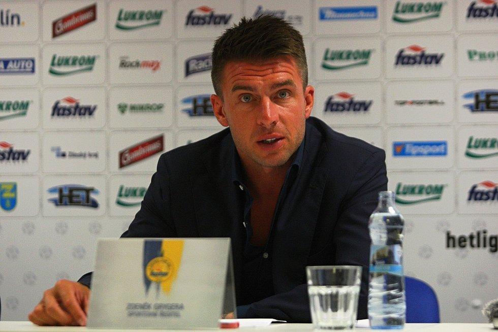 Sportovní ředitel Fastavu Zlín Zdeněk Grygera je s podobou současného kádru spokojený.