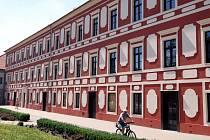 Zrekonstruovaná budova Starý zámek v Napajedlích.