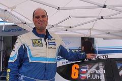 Závodní jezdec Václav Pech z plzeňského týmu Euro oil Invelt team.