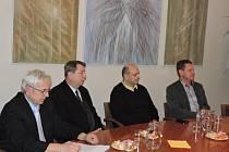 Setkání primátora s veliteli SDH