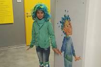 Pramínek Vítek se stal patronem nově otevřené léčebny. Děti se s ním v prostorách léčebny budou častěji setkávat díky malbám Moniky Mašterové.